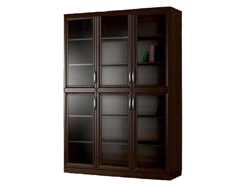 Шкаф трехстворчатый книжный-10 на заказ, купить мебель по ни.