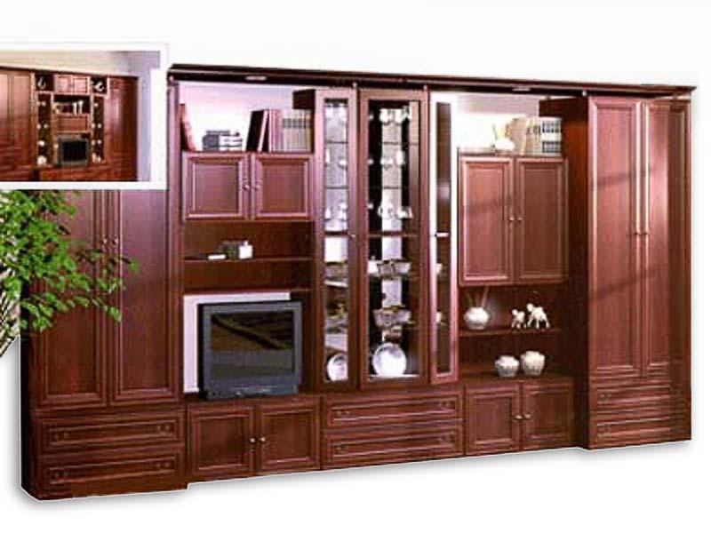 Шкаф-витрина для гостиной